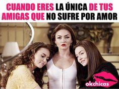 Una de nosotras tiene que ser la fuerte! Bff Images, Funny Images, Crazy Friends, Best Friends, Mexican Funny Memes, Spanish Memes, Gossip Girl, Good Times, Besties