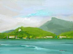 Igreja do Ouro Vista da Barca de Cocotá