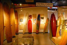 Oceanside Surf Museum!  Tons of surfboards on display!