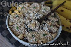 Receita de Farofa de Banana Crocante