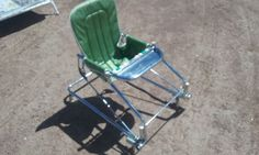 Taylor Tot Baby Walker Bouncer Vintage Antique Retro Highchair Stroller Seat Old