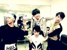 Jonghyun, Key, Taemin and Minho. WGM Ep 194