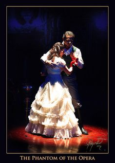 """Christine & Raoul in the Pakistani production of The Phantom of Opera. """"Phantom of the Opera"""" by IshtiaQ Ahmed."""