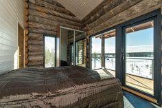 Myytävät loma-asunnot, Nuottakuja 5, Kuusamo #oikotieasunnot #makuuhuone