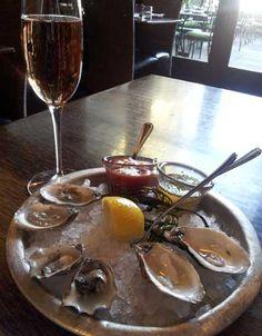 Valentine's Day Pairing Idea: Beausoleil Oysters and J Brut Rosé   www.jwine.com/Wines/  #wine #jvineyards #winepairing #food #celebrate #valentinesday #brut #jwine #oysters #visitus #valentine #sonomacounty