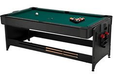 Fat Cat Original Pockey Multi-Game Table, Play Pool, Air Hockey and Table Tennis, Play 3 Games all with the Same Table with an Easy Switch Latch System * More info could be found at the image url. (This is an affiliate link)