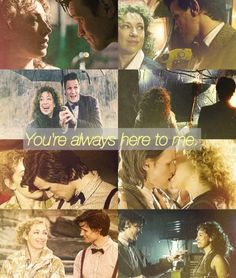 """You're always here to me. And I always listen. And I can always see you."" #DoctorWho #EleventhDoctor #RiverSong"