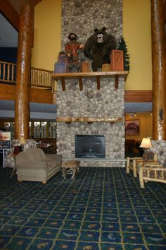7 p.m. story time with Grizzly Jack! Grizzly Jack's Grand Bear Resort, Utica, Illinois - across the street from Starved Rock State Park