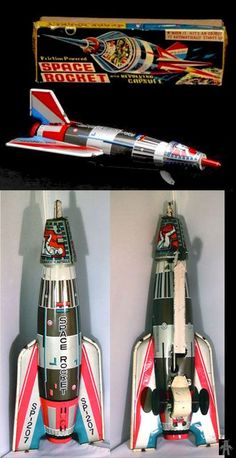 Space Rockets - SPACE ROCKET SP-207 - MASUYA - JAPAN - ALPHADROME ROBOT AND SPACE TOY DATABASE