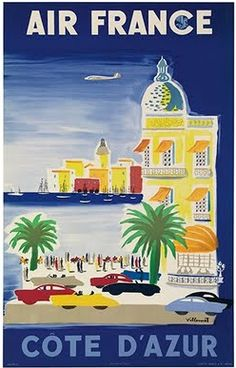 Cote D'Azur (French Riviera) - Air France (French)