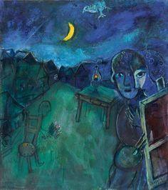 Marc Chagall -sur la route de Cramberry Lake -1944