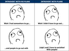 It's hard to be happy as an introvert