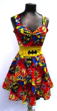 Incredible Batman Dress