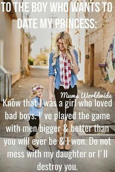 Never hurt any of my daughter's. Someone is making the mistake of messing with my oldest daughter. I do not like seeing either of my daughter's hurt...mess with them,and you will get Momma. ☝