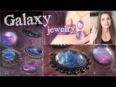 Make Your Own Wonderful Galaxy Jewelry | Diy Craft Projects