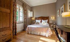 L'Hort de Sant Cebrià. Habitaciones en régimen de alojamiento y desayuno en casa rural con encanto en el Ampurdán - Girona. Habitación nº 4