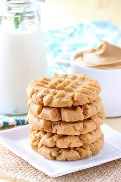 Old Fashioned Peanut Butter Cookies | Cooking on the Front Burner