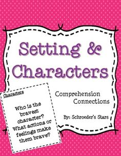 Helping students understand the importance of the setting and characters of a story is an integral part of learning to comprehend what we read.   Included in this freebie download are 16 questions to help spark students into thinking deeper about what is happening in the story.
