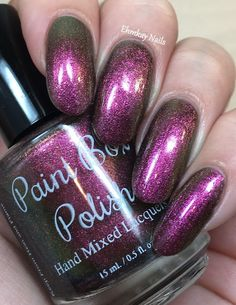 ehmkay nails: Paint Box Polish Amortentia: Multichrome Madness Group Custom