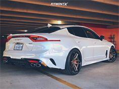2018 Kia Stinger Niche Methos Toyo Extensa Hp Ii Car Websites, Kia Stinger, Kia Motors, Super Sport Cars, Car Prices, Sweet Cars, Cheap Cars, Automotive Design, Custom Cars
