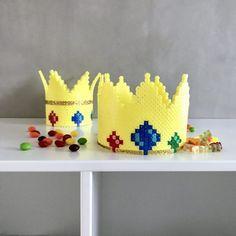 Fastelavn i perler – Anja Takacs Perler Bead Art, Perler Beads, Hama Perler, Hama Beads Design, Unicorn, Creative, Fuse Beads, Unicorns