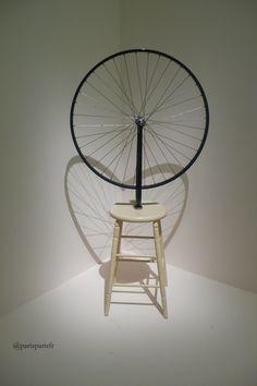 Marcel Duchamp, Roue de bicyclette, 1913.