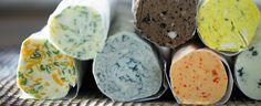 I burri composti risultano ottimi come base per tartine o per la preparazione di semplici crostini.  Il burro va ridotto a pezzettini e lasciato ammorbidire a temperatura ambiente. V errà lavorato a crema, incorporandoci aromi tritati o altri ingredienti che daranno la caratteristica e il sapore alle vostre pietanze.  Burro alla campagnola: 25 gr. di capperi, 20 gr. di cetriolini sott'aceto, 3 acciughe sfilettate, un ciuffetto di prezzemolo, 100 gr. di burro. Pestate e passate.  Burro all...