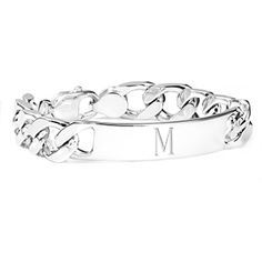 Sterling Silver Personalized Figaro Bracelets for men Mens Engraved Bracelets, Engraved Jewelry, Engraved Necklace, Bracelets For Men, Silver Ring Designs, Mens Silver Rings, 925 Silver, Silver Jewellery Indian, Wholesale Silver Jewelry