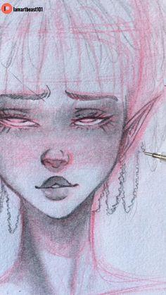 Dreadlocks drawing tutorial ��✨
