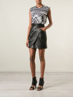 Balmain Draped Skirt - Patron Of The New - Farfetch.com