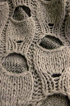 does anyone know how to do this stitch/pattern??? please share, if you know how (or where to find the instructions)       photo source: Lõngakera: kudumismõtted/knitting ideas