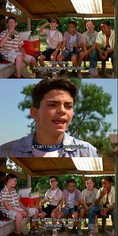 """Another pinner said, """"The Sandlot. Love this movie back in the day!!""""   Yeah, me too....... back in the day..... Like last week. lol"""