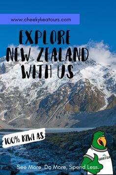 We're a locally owned and operated tour company based in the South   Island, New Zealand. With us, you will See More, Do More, Spend Less. Adventure Tours, South Island, New Zealand, Sustainability, Mount Everest, Explore, Mountains, News, Travel