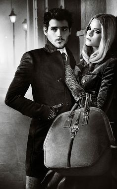 'The Embrace': The Burberry Autumn/Winter 2012 campaign featuring Gabriella Wilde and Roo Panes