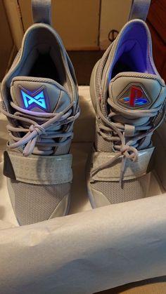 89601874998 Nike PG 2.5 PlayStation Paul George Wolf Grey Size 11 USA  fashion   clothing