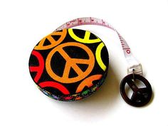 Tape Measure Peace Symbols Retractable Measuring Tape