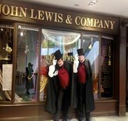 Dickensian mime artist. Victorian entertainment ideas for hire in London and the UK.