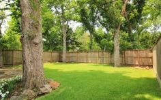 Large Backyard 6346 mercer st, west university, tx 77005   har