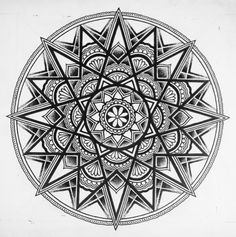 mandalas designs | Mandala Designs, flowing-liquid-diamonds: Not sure if this has...