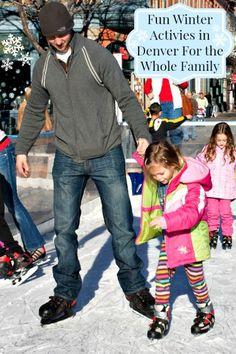 Tons of fun winter activities in the Denver area.