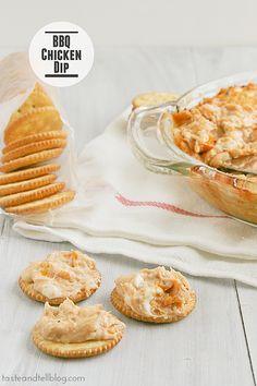 BBQ Chicken Dip | www.tasteandtellblog.com #BHGSummer