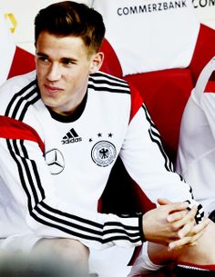 Erik Durm, Borussia Dortmund and national German soccer player. Damn