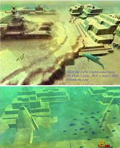 A team of scientists continues to explore megalithic ruins found in the Yucatan Channel near Cuba. They have found evidence of an extensive urban environment stretching for miles along the ocean shore. Some believe that the civilization that inhabited these predates all known ancient American cultures. So far, only computer models of this mysterious underwater city exist.