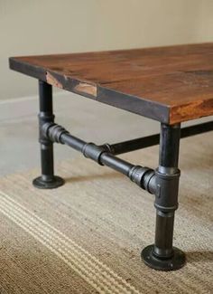 Table Base   Plumbing Pipe By Sharonsparkles