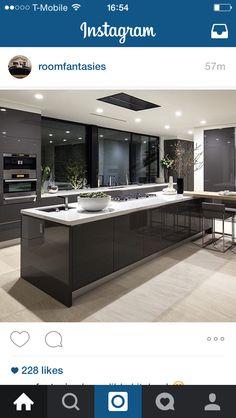 #roomfantasies #kitchen #dream #modern LOVE LOVE LOVE!!!