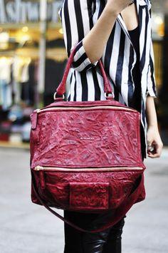 888586d3ef7 Givenchy Pandora bag red Givenchy Handbags, Pandora Bag, Girls Bags, Me Bag,