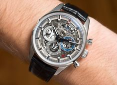 The new-for-2017 Zenith Chronomaster El Primero Full Open 38.00 is based on a simple, but powerful recipe. Find out what on aBlogtoWatch.com.