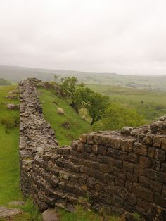 Hadrian's Wall Trail by Liddy2007, via Flickr; Northcumberland, England