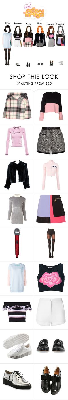 """""""[Comeback Stage] StarZ - Lucky Baby  Show Music Core"""" by starz-official ❤ liked on Polyvore featuring River Island, Marni, Adam Selman, Carven, Missoni, Au Jour Le Jour, Y/Project, Versace, Pretty Polly and Natasha Zinko"""