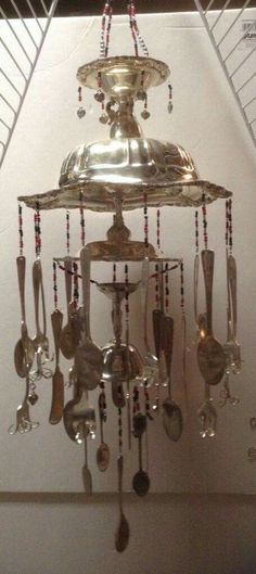 Silverware windchime ♡♡♡